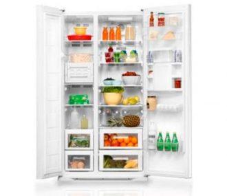 Heladera con freezer Atma