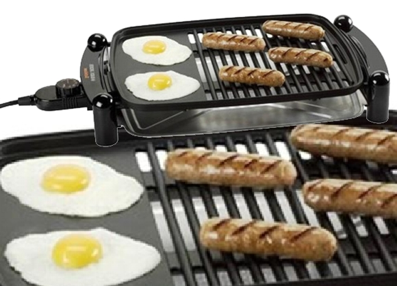 Tipos de cocinas eléctricas - Parrilla Black & Decker
