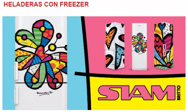 Heladeras SIAM Freezer