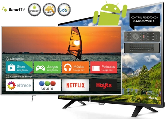 Smart TV Philips 55 pulgadas