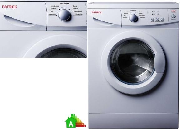 Lavarropas automático Patrick 6 Kg