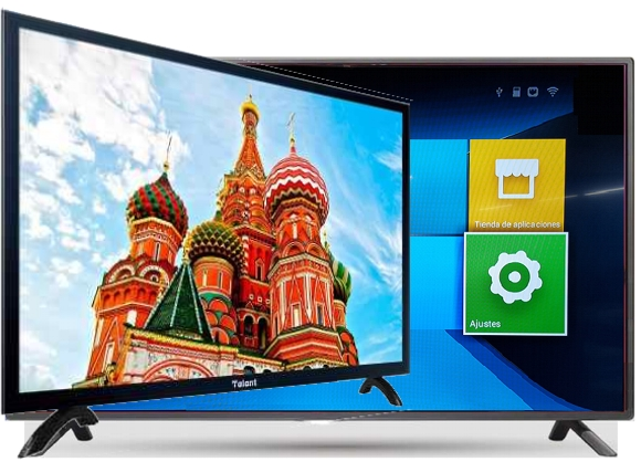 Smart TV Talent 55 pulgadas full hd