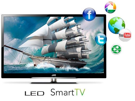 JVC televisor de alta definición