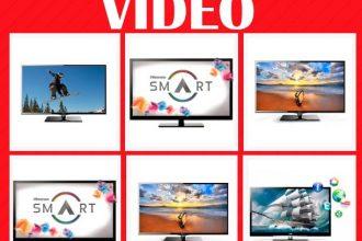 Televisores y video