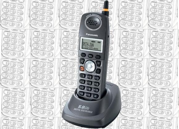 Teléfono para línea fija inalámbrico Panasonic