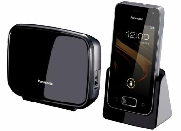 Teléfono fijo con tecnología de Smartphone Panasonic