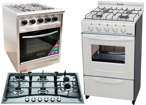 Cocinas y anafes a gas