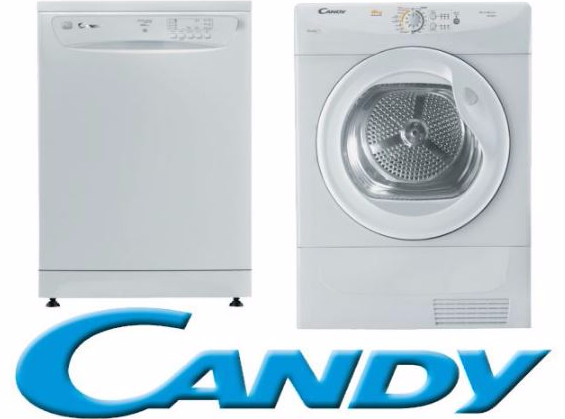 Lavasecarropas Candy en Rodó lavarropas