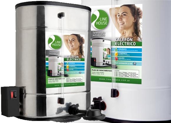 Calefón eléctrico 25 litros Line House