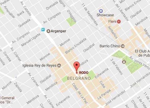 Rodo Belgrano Direccion