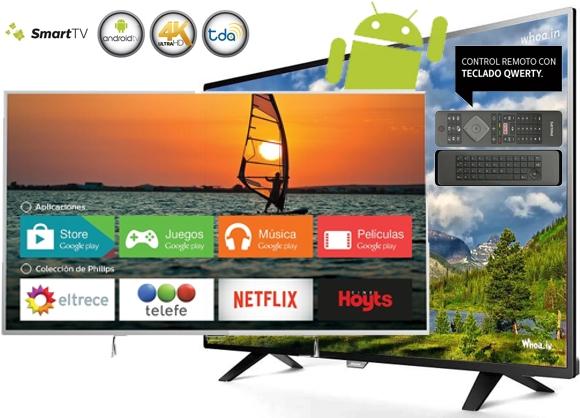 Smart TV Philips 55 pulgadas