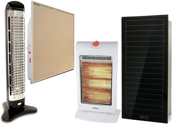 modelos estufas eléctricas