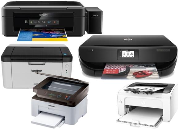 Rodó impresoras de diferentes marcas