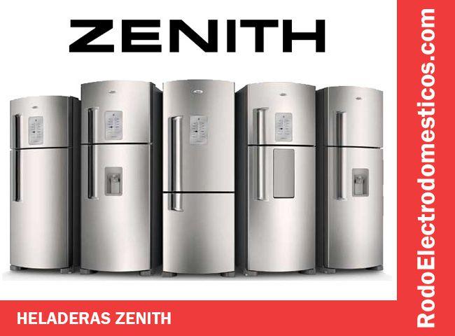 Precios heladeras Zenith